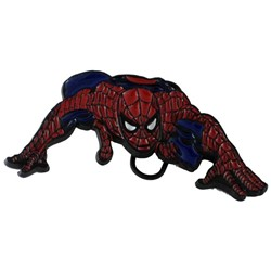 Spiderman Low Powdercoat Belt Buckle