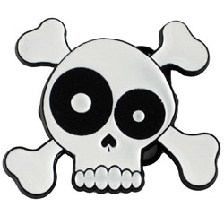 Drunken Skull Belt Buckle