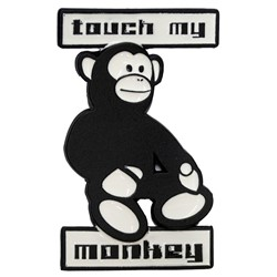 Touch my Monkey Belt Buckle