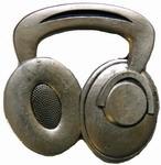 Headphones belt buckle (Silver Grey)