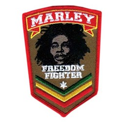 Bob Marley - Fighter unisex-adult Patch in NA