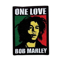 Bob Marley - One Love unisex-adult Patch in NA