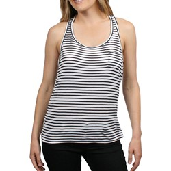 Obey Shattered Stripe Womens Staple Knit in Black