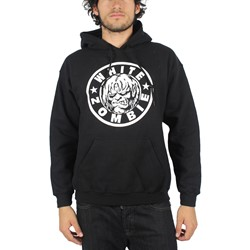 White Zombie - Mens Classic Zombie Logo Pullover Hoodie