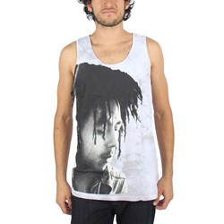 Bob Marley - Mens ContemplationTank Tank Top In Gray