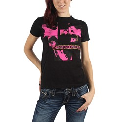 Psychedelic Furs - Womens Squares Jrs T-Shirt