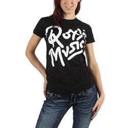 Roxy Music - Womens Logo 02 T-Shirt