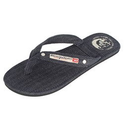 "Diesel - Mens ""Aqualife"" Seaside - Flip-Flop in Indigo"