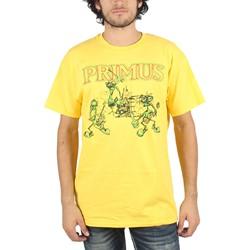Primus - Mens Skeeter Band T-Shirt in Yellow