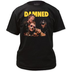 The Damned - Mens  Damned Damned Damned T-Shirt