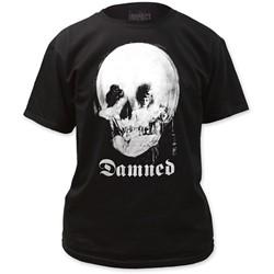 The Damned - Mens  Mirror Skull T-Shirt