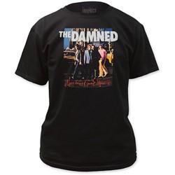 The Damned - Mens  Machine Gun Etiquette T-Shirt