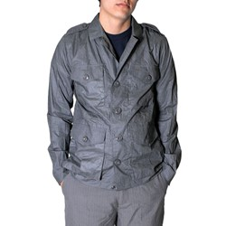 The Smith Mens Jacket In Graphite By Obey Clothing