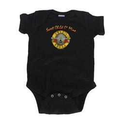 Guns N Roses - Sweet Child Onesie Babywear In Black