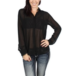 Jack BB Dakota - Womens Harva Button-Down Blouse