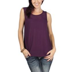 BB Dakota - Womens Callia Top in Tyrian Purple
