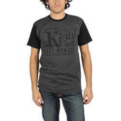 KR3W - Mens Stamp Color Block T-Shirt