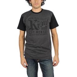 KR3W - Mens Stamp Color Block T-Shirt