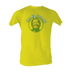 Sanford & Son - Vintage Dummy Mens T-Shirt In Yellow
