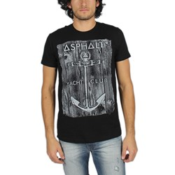 Asphalt Yacht Club - Mens Anchor Wood T-Shirt
