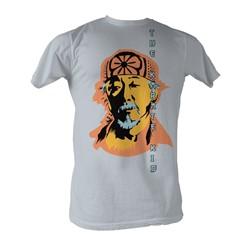 Karate Kid, The - Miyagi Mens T-Shirt In Silver