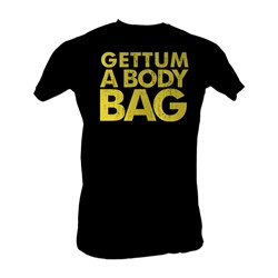 Karate Kid, The - Gettum A Body Bag Mens T-Shirt In Black