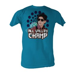 Karate Kid, The - Champ Mens T-Shirt In Turquoise