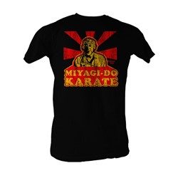 Karate Kid, The - Miyagi-Do Karate Mens T-Shirt In Black