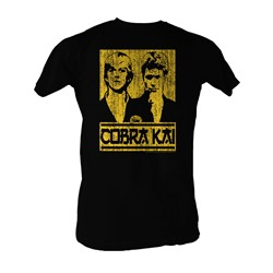Karate Kid, The - Johnny And Kreese Mens T-Shirt In Black