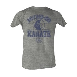 Karate Kid, The - Miyagi-Do Karate Mens T-Shirt In Gray Heather