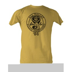 Karate Kid, The - All Valley '84 Mens T-Shirt In Mustard