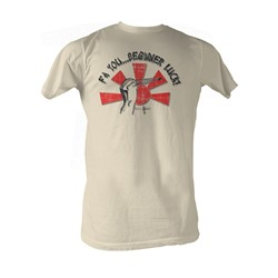Karate Kid, The - Beginners Luck Mens T-Shirt In Dirty White