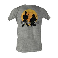 Karate Kid, The - The Karate Kid Mens T-Shirt In Gray Heather