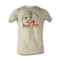 Karate Kid, The - Not Yet Mens T-Shirt In Dirty White
