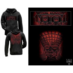 Tool - Red Face Zip-Up Hoodie
