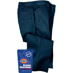 Dickies - KP710 Girl's Flat Front Capri (Junior Sizes)