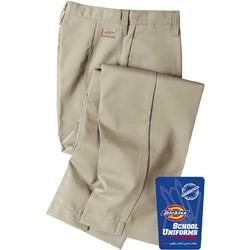 Dickies - KP312 Girl's Flexwaist Flat Front Pant