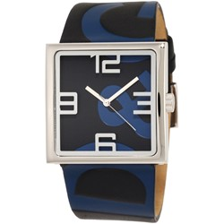 D&G Dolce & Gabbana Women's DW0037 Andy Ext Square Analog Strap Dial Logo Stretch Watch