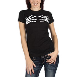 The Misfits - Skeleton Hands Girls T-Shirt In Black