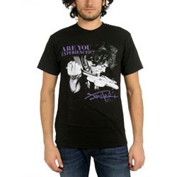 Jimi Hendrix - Mens Tongue T-Shirt In Black