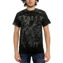 Metallica - Stone Justice Mens T-Shirt In Black