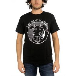 Dead Milkmen Black Cow Logo Adult T-Shirt