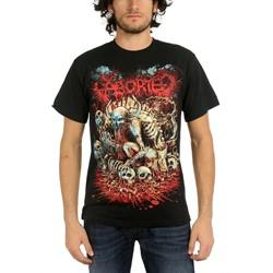 Aborted - Mens God Machine T-Shirt in Black