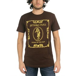 Jethro Tull - Living In The Past Mens T-Shirt In Dark Chocolate