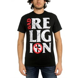 Bad Religion - Mens Stacked Logo T-Shirt