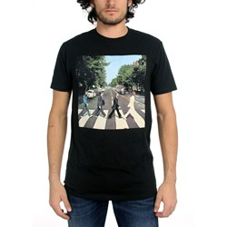 Beatles, The - Mens Abbey Road T-Shirt in Black