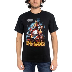 Army Of Darkness Trapped In Time Adult T-Shirt