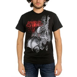 Avenged Sevenfold - Spineclimber Mens T-Shirt In Black