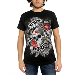 Guns N Roses  - Mens Firepower T-Shirt In Black