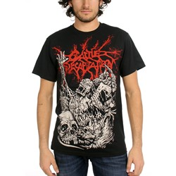 Cattle Decapitation - Mens Alone At the Landfill T-Shirt in Black